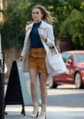 Suki Waterhouse spotted on the set of 'Creation Stories' in London, UK