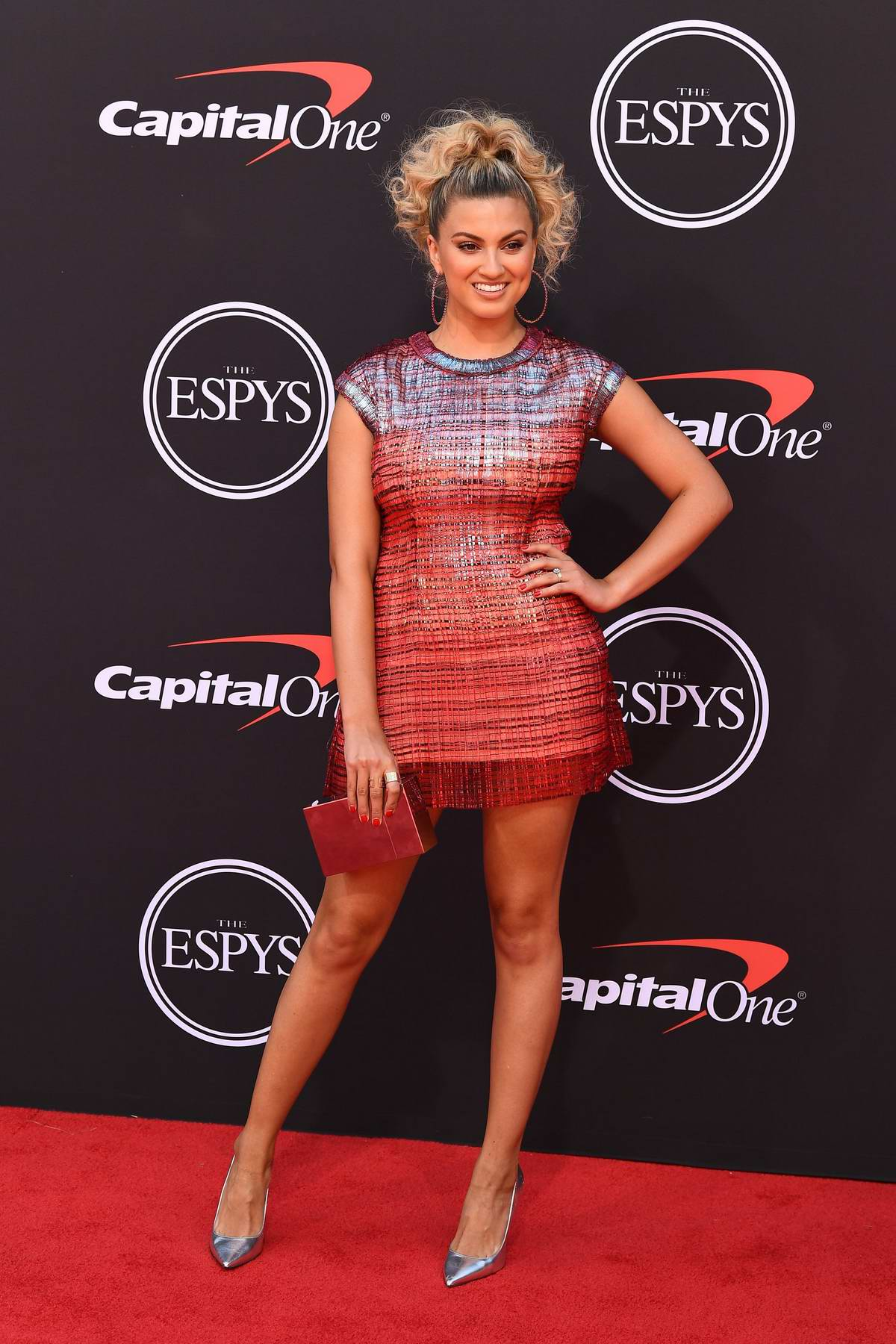 Tori Kelly attends the 2019 ESPY Awards at the Microsoft Theatre in Los Angeles