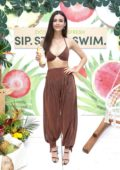 Victoria Justice attends ZICO Coco-Refresh event during Miami Swim Week in Miami, FLorida