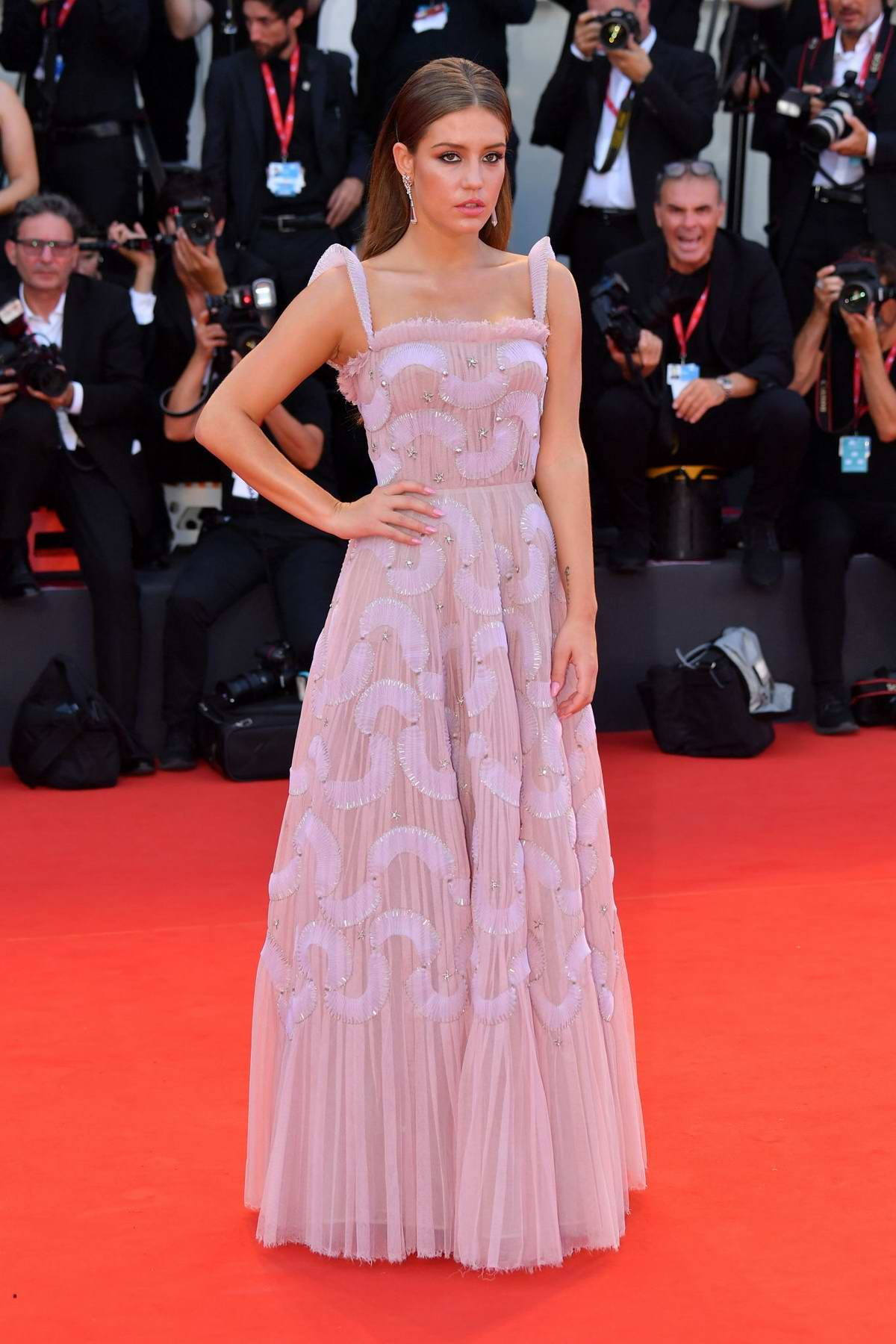 Adele Exarchopoulos attends 'Joker' Screening during the 76th Venice Film Festival in Venice, Italy