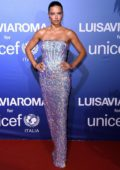 Adriana Lima attends the UNICEF Summer Gala presented by LuisaViaRoma in Sardinia, Italy