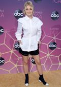 AJ Michalka attends the ABC's 2019 TCA Summer Press Tour at Soho House in Beverly Hills, Los Angeles