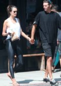 Alessandra Ambrosio and Nicolo Oddi step out for some coffee and snacks in Los Angeles