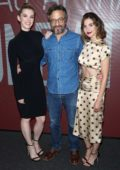 Alison Brie and Betty Gilpin attend the SAG-AFTRA Foundation Conversations: 'GLOW' in New York City