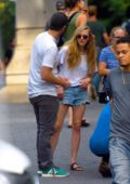 Amanda Seyfried and Thomas Sadoski enjoys an afternoon stroll in Manhattan, New York City