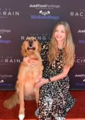 Amanda Seyfried attends the Dog Premiere of 'The Art of Racing in the Rain' in Los Angeles