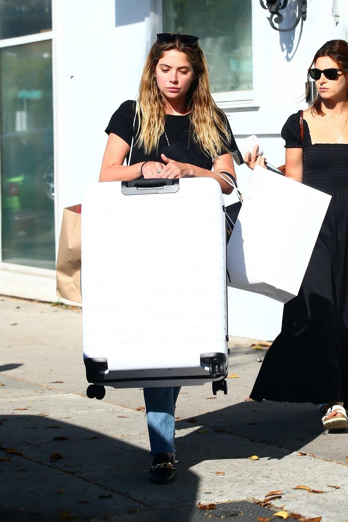 Ashley Benson steps out for some shopping in Beverly Hills, Los Angeles