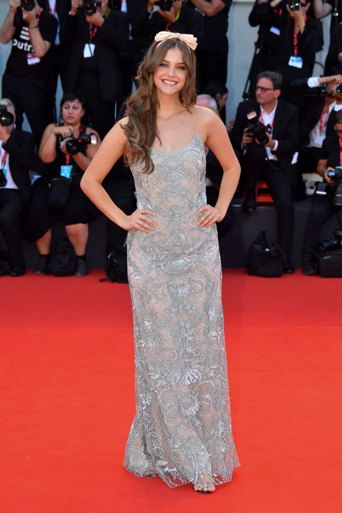 Barbara Palvin attends 'Joker' Screening during the 76th Venice Film Festival in Venice, Italy