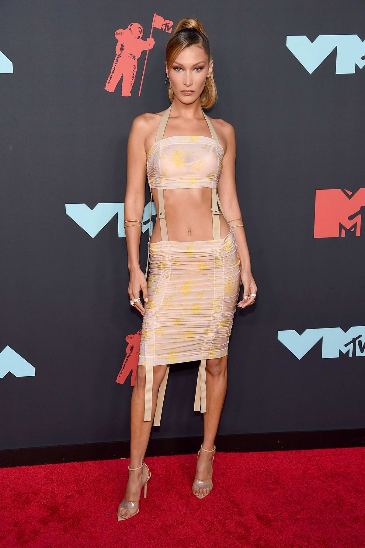 Bella Hadid attends the 2019 MTV Video Music Awards at Prudential Center in Newark, New Jersey