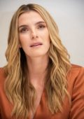 Betty Gilpin attends 'Glow' Press Conference and Photocall at the Four Seasons Hotel in Beverly Hills, Los Angeles