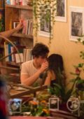 Camila Cabello and Shawn Mendes pack on some PDA during a romantic night out in Montreal, Canada