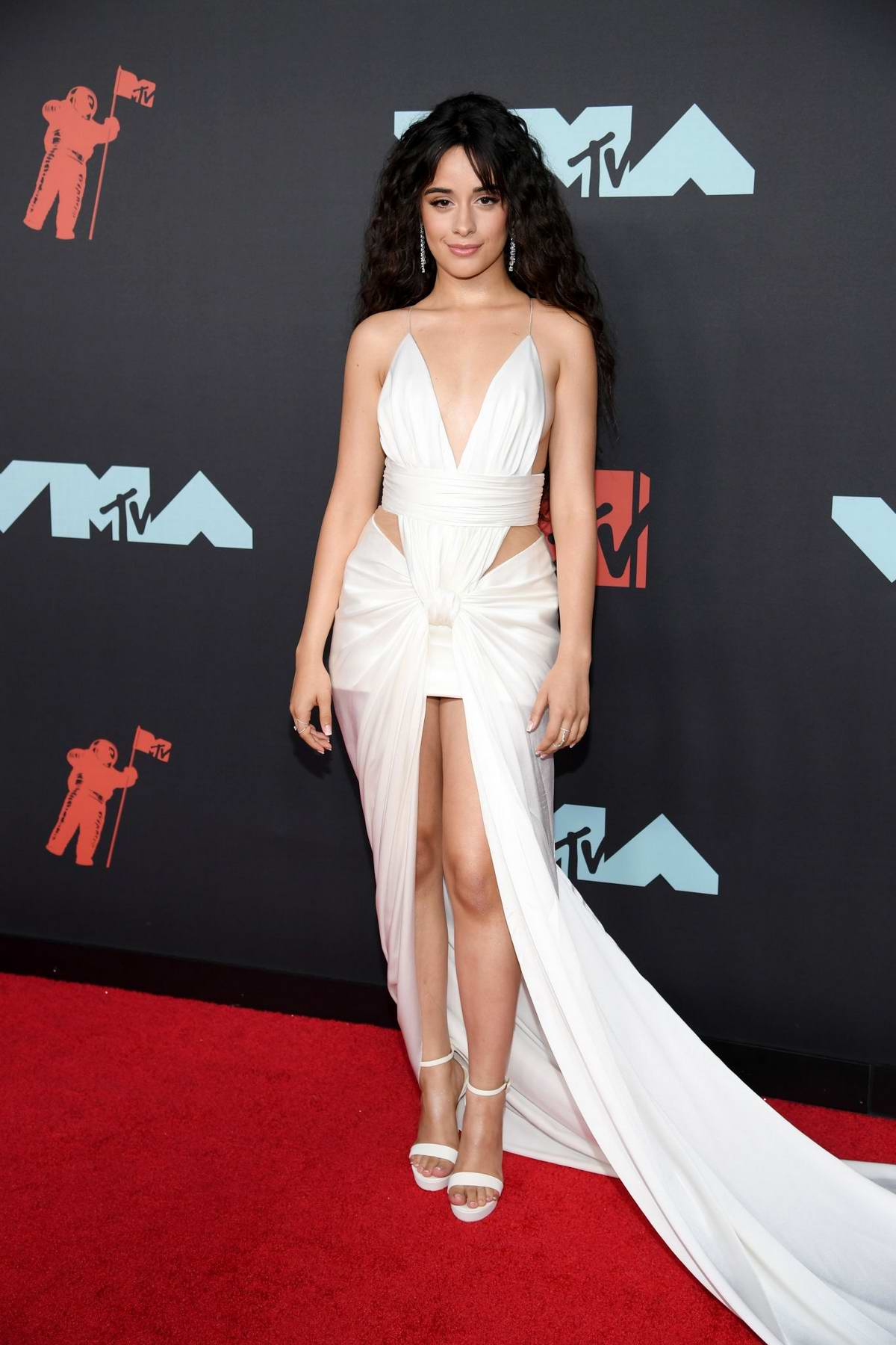Camila Cabello attends the 2019 MTV Video Music Awards at Prudential Center in Newark, New Jersey