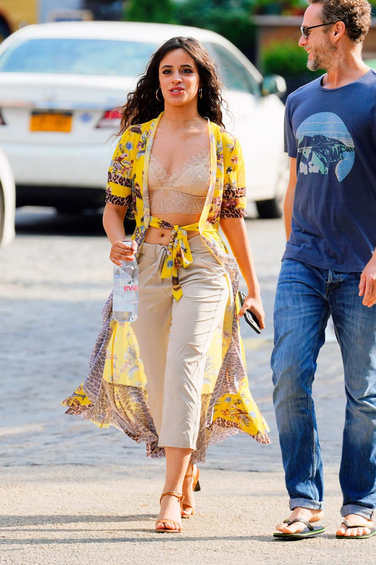 Camila Cabello looks fab in yellow on boyfriend Shawn Mendes' 21st birthday in New York City