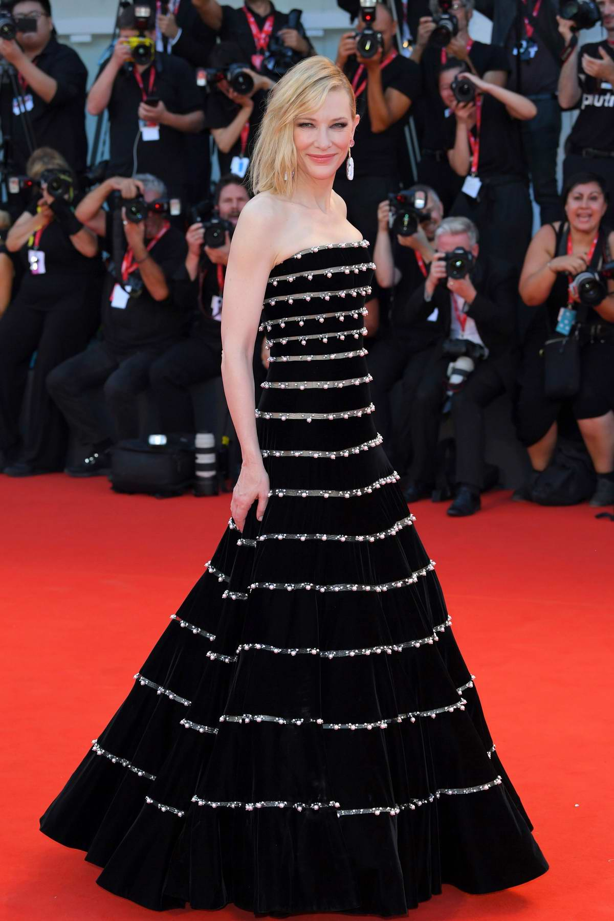 Cate Blanchett attends 'Joker' Screening during the 76th Venice Film Festival in Venice, Italy
