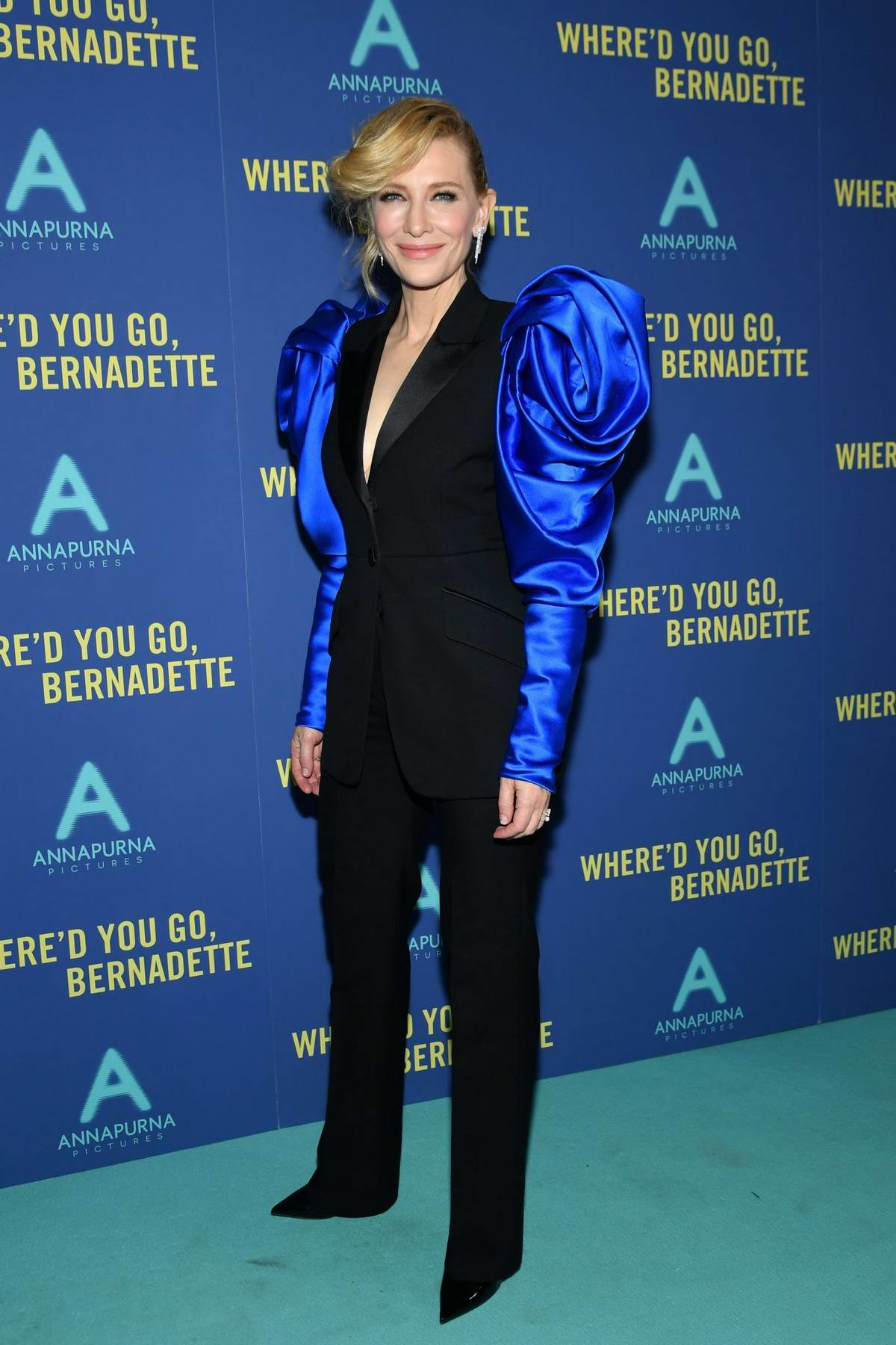 Cate Blanchett attends the 'Where'd You Go, Bernadette' New York Screening at Metrograph in New York City
