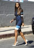 Ciara smiles for the camera as she heads to film 'America's Most Musical Family' in Los Angeles