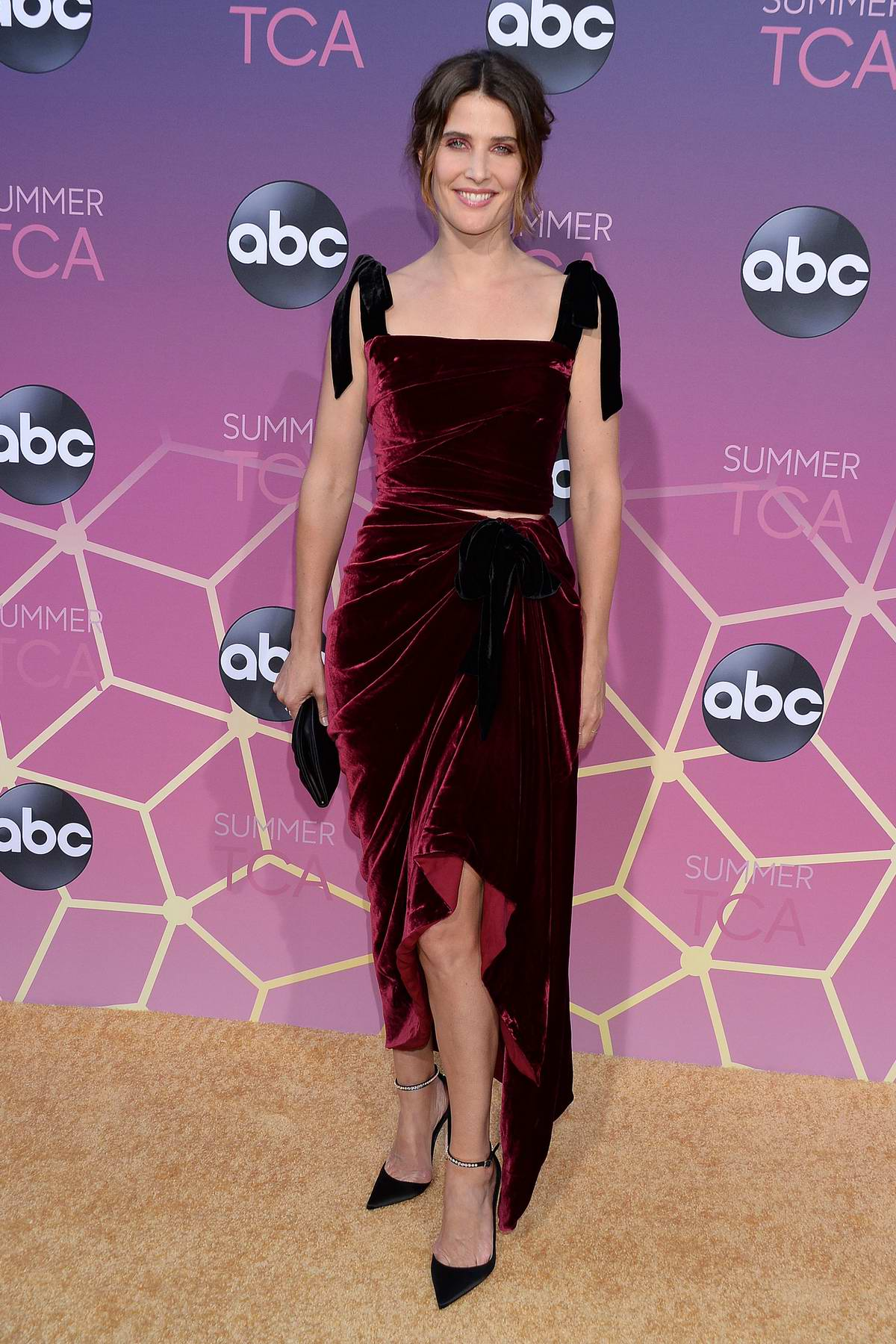 Cobie Smulders attends the ABC's 2019 TCA Summer Press Tour at Soho House in Beverly Hills, Los Angeles