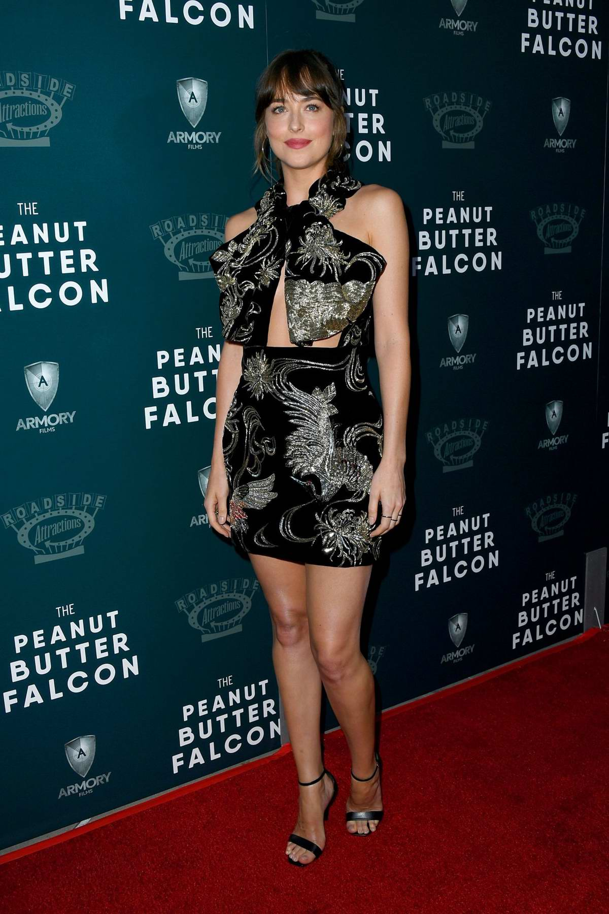 Dakota Johnson attends the Special Screening of 'The Peanut Butter Falcon' at Arclight Hollywood in Hollywood, California