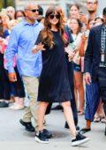 Dakota Johnson promotes 'The Peanut Butter Falcon' on Build Series in New York City