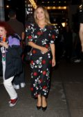 Dianna Agron seen leaving Jake Gyllenhaal's 'Sea Wall A Life' Broadway Play in New York City