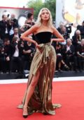 Elsa Hosk attends 'Marriage Story' Screening during the 76th Venice Film Festival in Venice, Italy