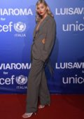 Elsa Hosk attends the UNICEF Summer Gala Presented by LUISAVIAROMA in Sardinia, Italy