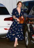 Emma Stone and Dave McCary enjoy a dinner date at Giorgio Baldi in Santa Monica, California