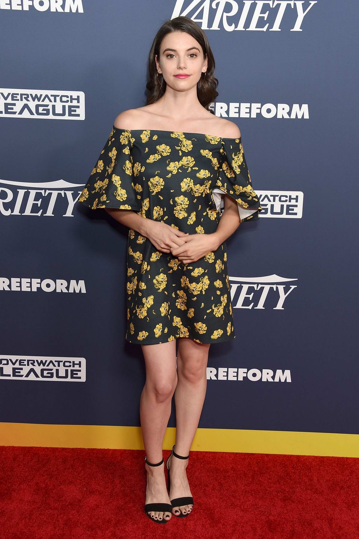 Francesca Reale attends Variety's Power Of Young Hollywood at The H Club in Los Angeles