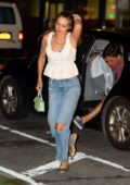 Gigi Hadid and Tyler Cameron step out for dinner with Serena Williams at La Esquina in New York City