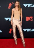 Gigi Hadid attends the 2019 MTV Video Music Awards at Prudential Center in Newark, New Jersey
