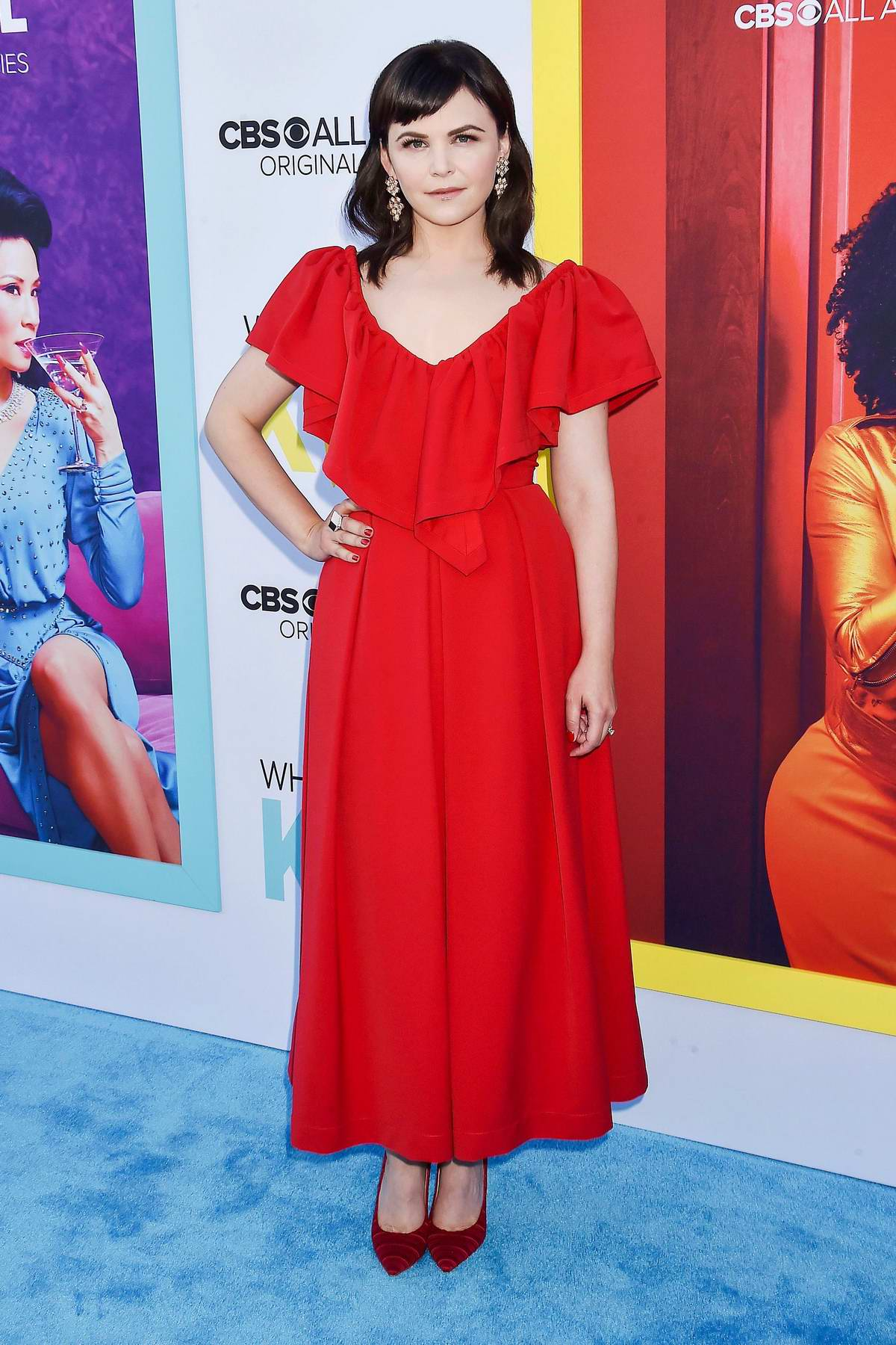 Ginnifer Goodwin attends the Premiere of 'Why Women Kill' at Wallis Annenberg Center in Los Angeles