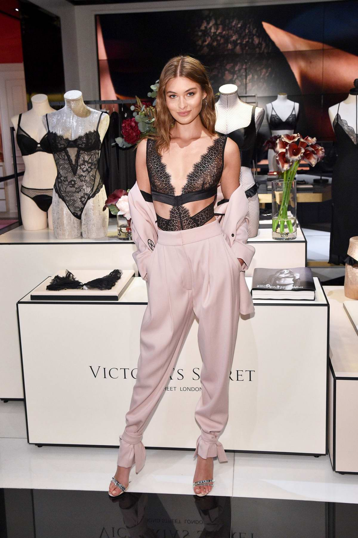 Grace Elizabeth attends Victoria's Secret Debut of the New Fall Collection in New York City