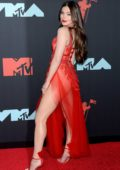 Hailee Steinfeld attends the 2019 MTV Video Music Awards at Prudential Center in Newark, New Jersey