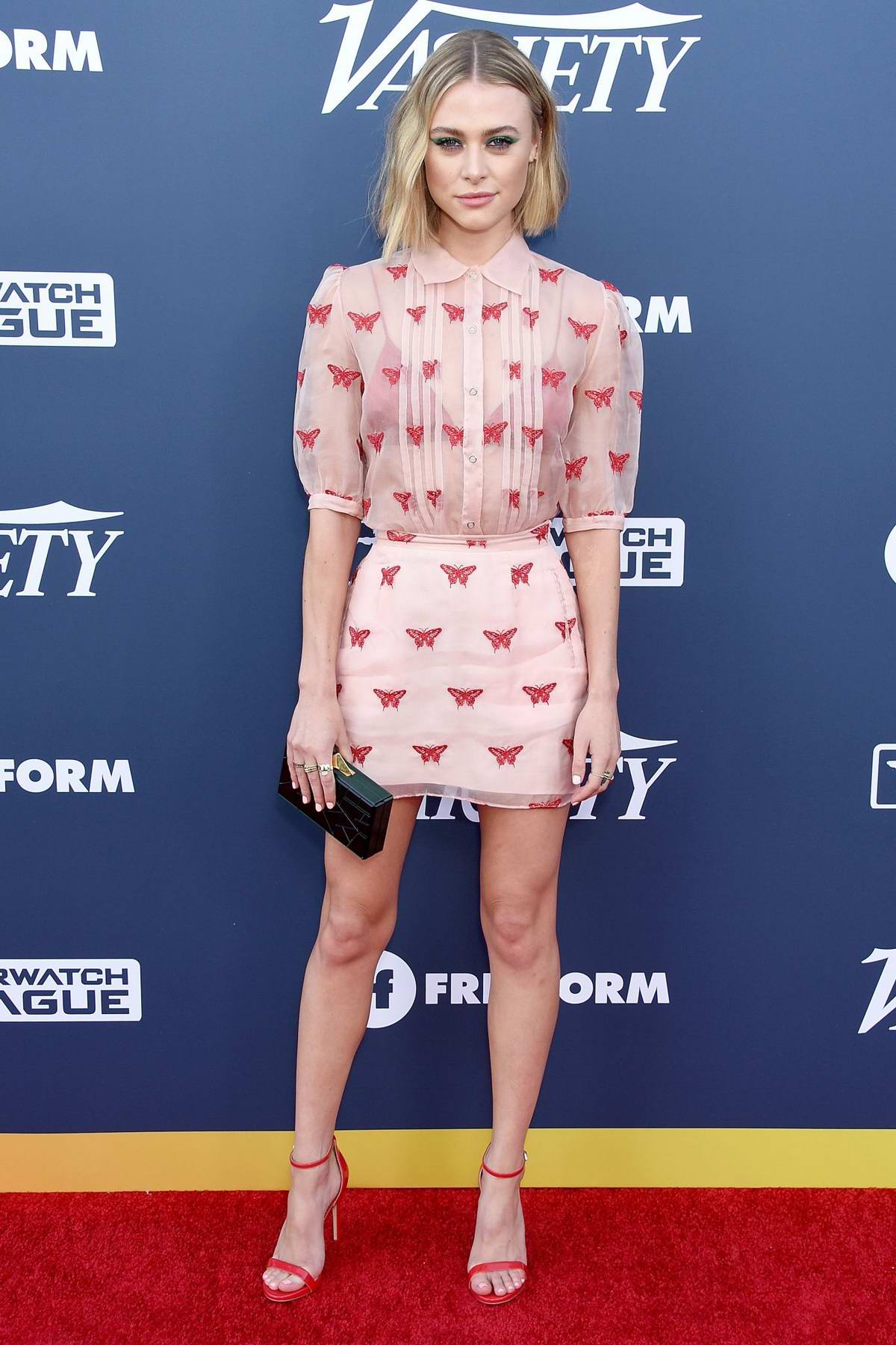Hayley Erin attends Variety's Power Of Young Hollywood at The H Club in Los Angeles
