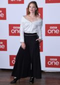 Holliday Grainger attends 'The Capture' press launch at Soho Hotel in London, UK