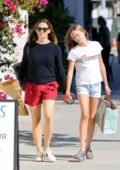Jennifer Garner enjoys a day out with daughter Violet in Los Angeles
