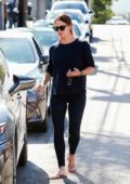 Jennifer Garner seen leaving the salon after enjoying a spa day in Los Angeles