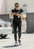 Jennifer Garner walks back to her car after a workout session at Body by Simone gym in West Hollywood, Los Angeles