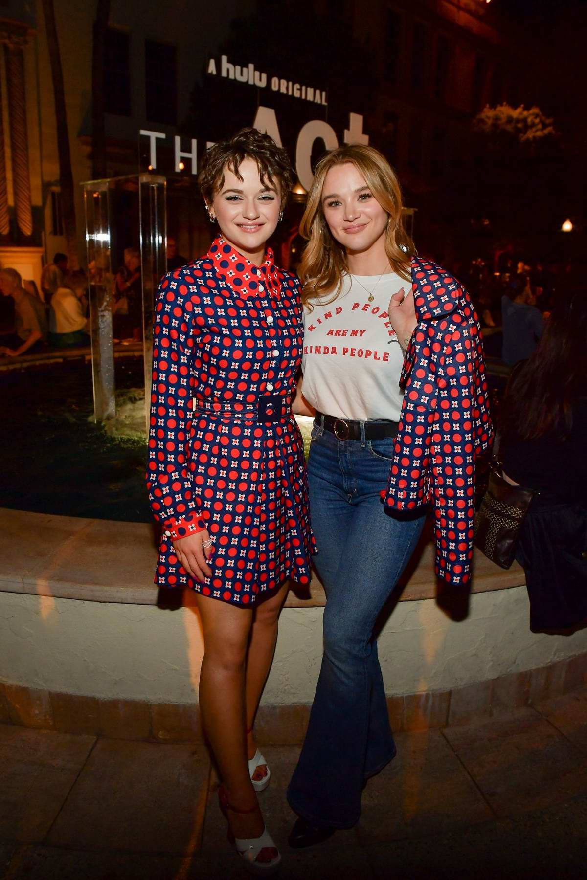 Joey King and Hunter King attend the FYC Screening For Hulu's 'The Act' at Paramount Studios in Hollywood, California