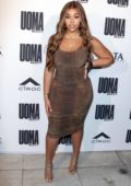 Jordyn Woods attends the UOMA Beauty Summer Party in Beverly Hills, Los Angeles