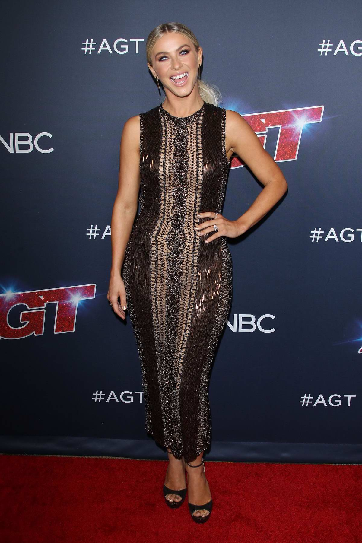 Julianne Hough attends 'America's Got Talent' Season 14 Live Show Red Carpet at Dolby Theatre in Hollywood, California