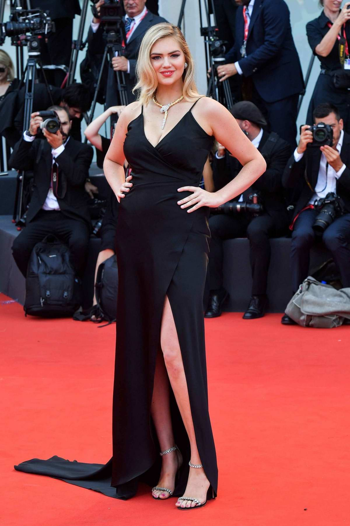 Kate Upton attends 'Marriage Story' Screening during the 76th Venice Film Festival in Venice, Italy