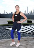 Kate Upton hosts a Strong4Me workout event in New York City