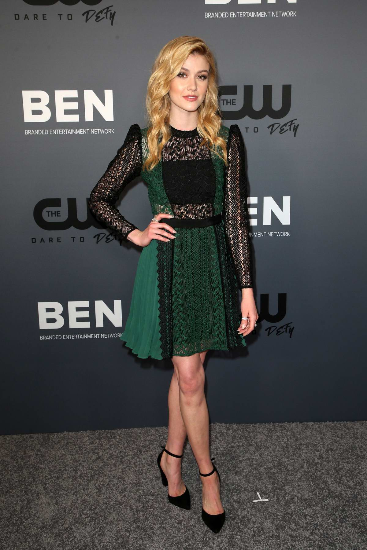 Katherine McNamara attends The CW's Summer 2019 TCA Party at Beverly Hilton Hotel in Beverly Hills, Los Angeles