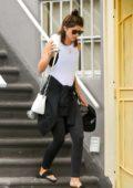 Katherine Schwarzenegger seen leaving the gym in Los Angeles