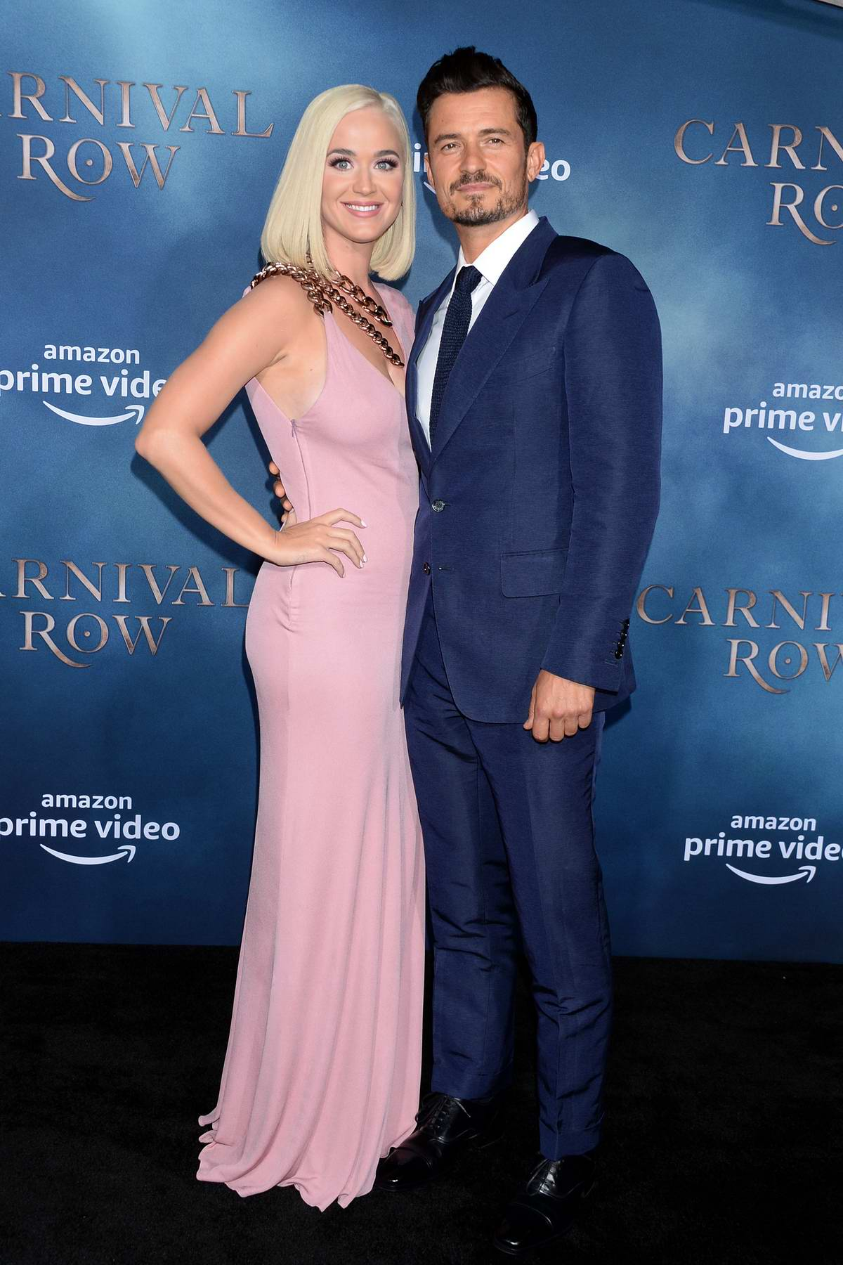Katy Perry and Orlando Bloom attend 'Carnival Row' TV show premiere in Los Angeles
