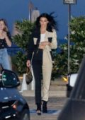 Kendall Jenner grabs dinner with Caitlyn Jenner at Nobu in Malibu, California