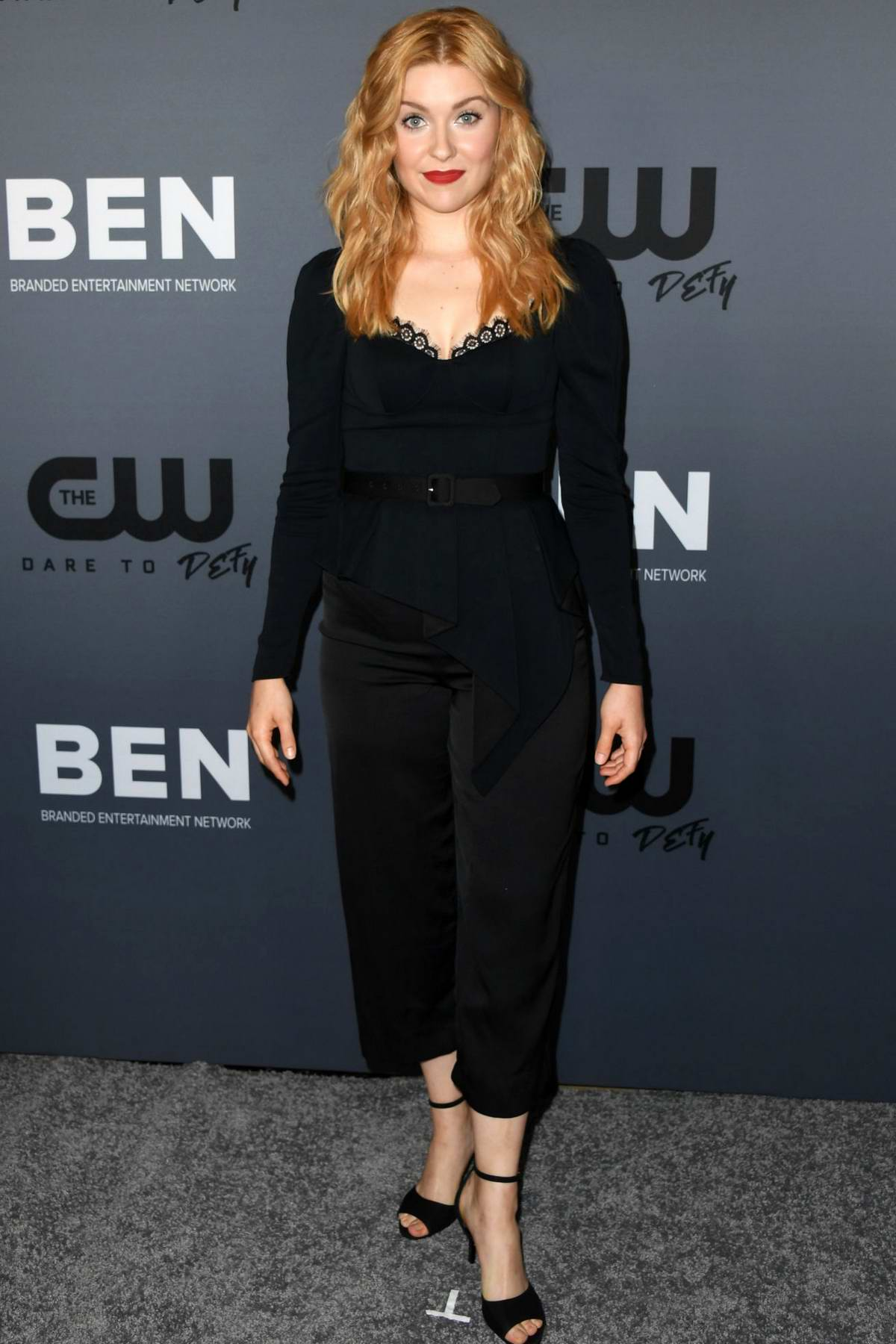 Kennedy McMann attends The CW's Summer 2019 TCA Party at Beverly Hilton Hotel in Beverly Hills, Los Angeles