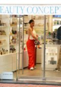 Kylie Jenner and Travis Scott stepped out for shopping in Portofino, Italy