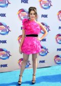 Laura Marano attends the FOX's Teen Choice Awards 2019 in Hermosa Beach, California